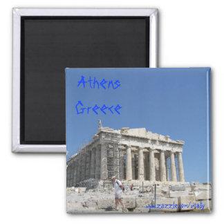 Conception d'aimant d'Athènes Grèce