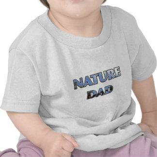 "Conception d'arbre de ciel ""de PAPA de NATURE"" T-shirt"