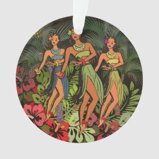 Conception d'art de danse polynésienne de paume