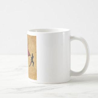 """Conception d'art de rue """"de rage créative"""" tasse à café"""