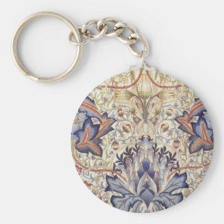 Conception d'artichaut de William Morris Porte-clé Rond