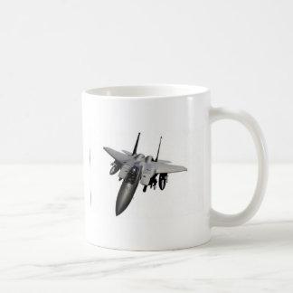 Conception d'avion de chasse mug