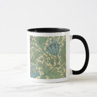 """Conception de """"anémone"""" (textile) mug"""