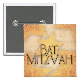 Conception de bat mitzvah de do-it-yourself pin's avec agrafe
