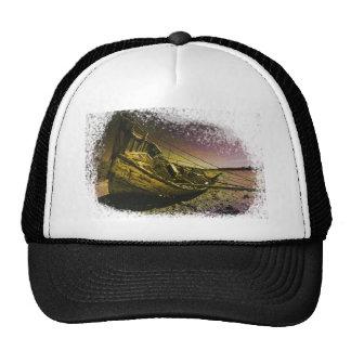 Conception de bateau d'étoile casquette