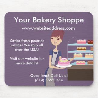 Conception de boulangerie magasin de pâtisserie 4 tapis de souris