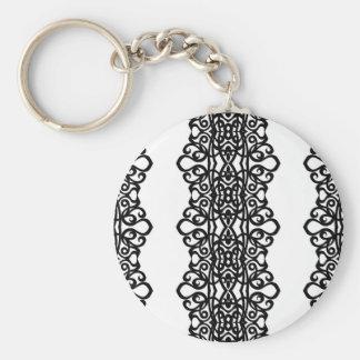 Conception de broderie de dentelle de Keychain Porte-clefs