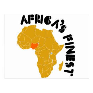 Conception de carte du Nigéria, Afrique