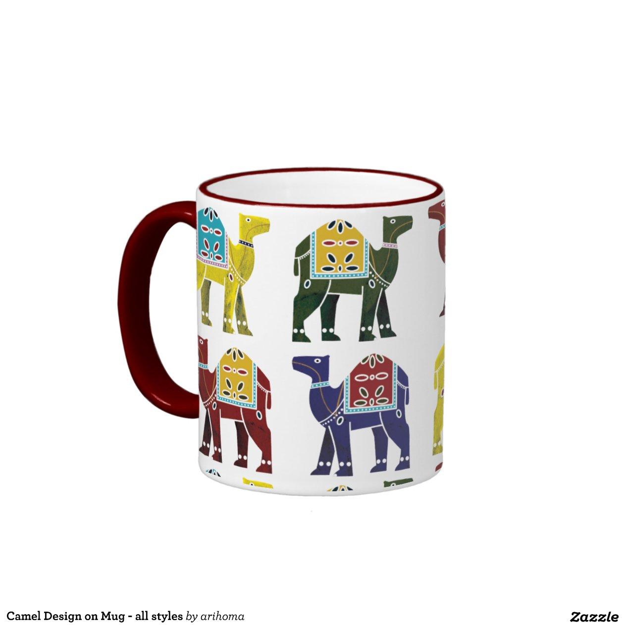 conception de chameau sur la tasse tous les styl zazzle. Black Bedroom Furniture Sets. Home Design Ideas