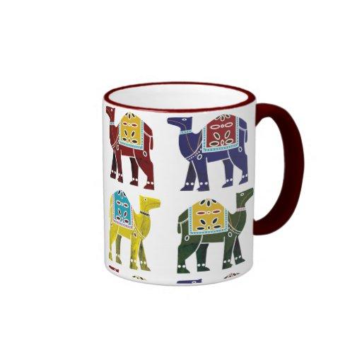 Conception de chameau sur la tasse - tous les styl