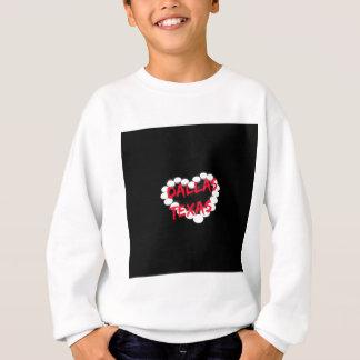 Conception de coeur de bougie pour Dallas, le Sweatshirt