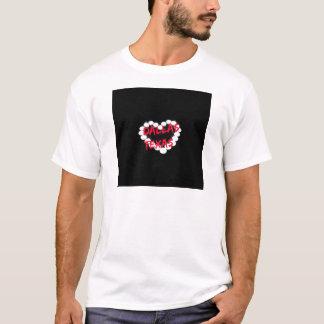 Conception de coeur de bougie pour Dallas, le T-shirt