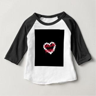 Conception de coeur de bougie pour Dallas, le T-shirt Pour Bébé