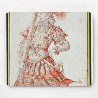 Conception de costume pour le carrousel, c.1662 tapis de souris