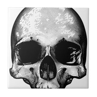 Conception de crâne petit carreau carré