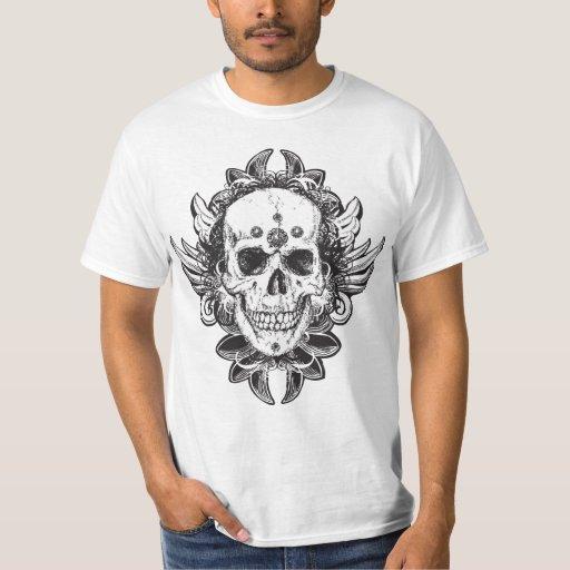 Conception de crâne t-shirt