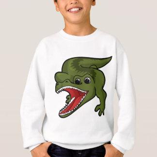 Conception de crocodile sweatshirt