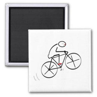 Conception de cycliste d'amusement aimant