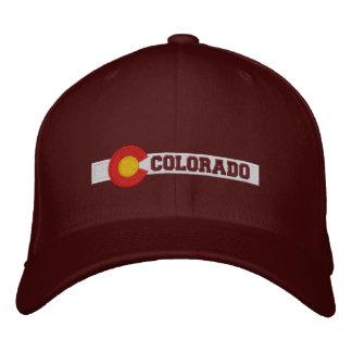 Conception de drapeau d'état du Colorado Casquette Brodée