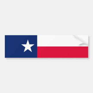 Conception de drapeau d'état du Texas Autocollant Pour Voiture