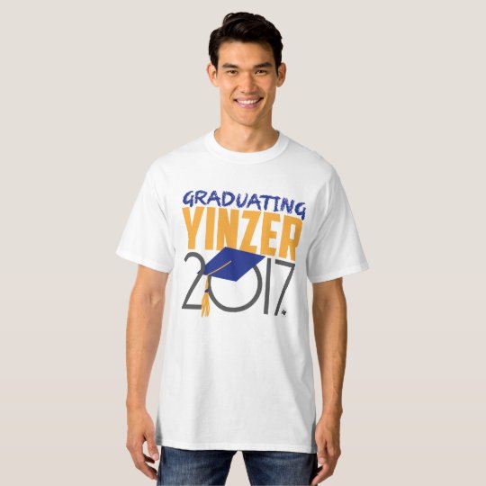 Conception de graduation de T-shirt de Yinzer