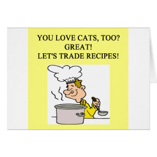 conception de haineux de chat carte de vœux