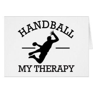 conception de handball carte