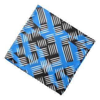 Conception de Jimette de Bandana bleue et blanc