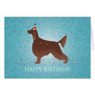Conception de joyeux anniversaire de poseur cartes