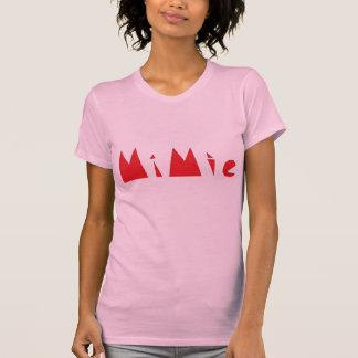 Conception de Mimie T-shirt