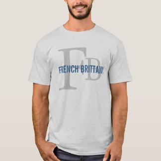 Conception de monogramme de race de la Bretagne de T-shirt
