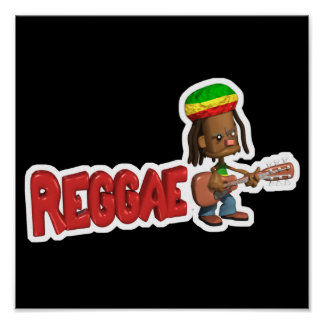 conception de musique de reggae poster