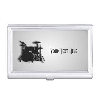 Conception de musique de tambours étuis pour cartes de visite
