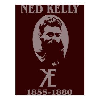 Conception de Ned Kelly Cartes Postales