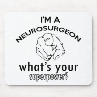 conception de neurochirurgien tapis de souris