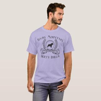 Conception de noir de T-shirt de taureaux de petit