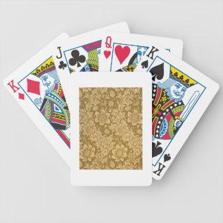 """Conception de papier peint de """"fritillaire"""", 1885 jeux de cartes"""