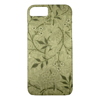 "Conception de papier peint de ""jasmin"", 1872 coque iPhone 7"