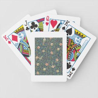 """Conception de papier peint de """"oiseau et de grenad jeu de cartes"""
