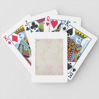 """Conception de papier peint """"de tulipe de jardin"""",  jeu de poker"""
