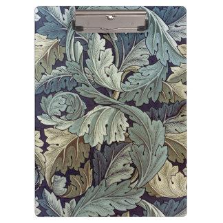 Conception de papier peint floral d'acanthe de Wil