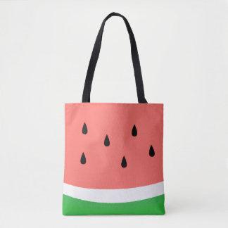 conception de pastèque tote bag
