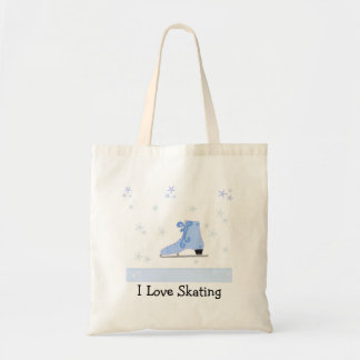 Conception de patinage de glace sacs fourre-tout