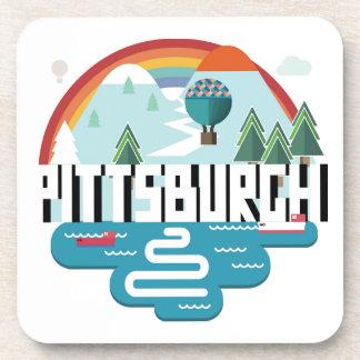 Conception de Pittsburgh, paysage urbain de la Sous-bock