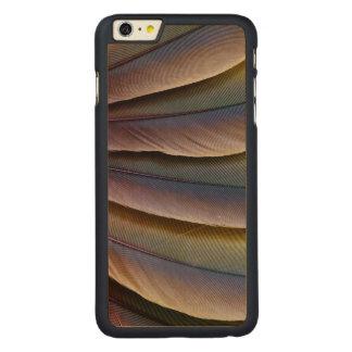 Conception de plume de l'ara de Buffon Coque En Érable iPhone 6 Plus