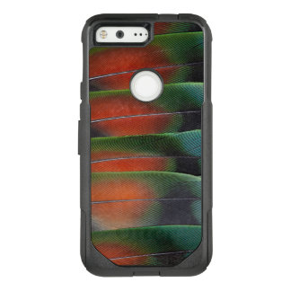 Conception de plume de queue d'inséparable coque google pixel par OtterBox commuter