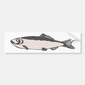 conception de poissons autocollant pour voiture