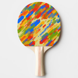 conception de regard fraîche géométrique abstraite raquette de ping pong