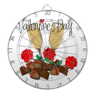 Conception de Saint-Valentin Jeux De Fléchettes