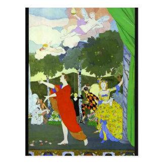 Conception de Somov-Rideau en Konstantin pour Cartes Postales